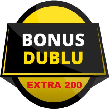 Bonus Dublu EXTRA 200 la Fortuna