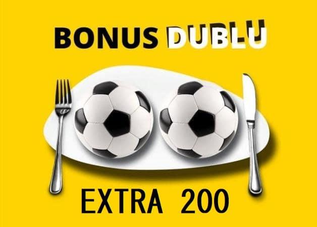 Ce inseamna Bonus Dublu Extra 200 la Fortuna